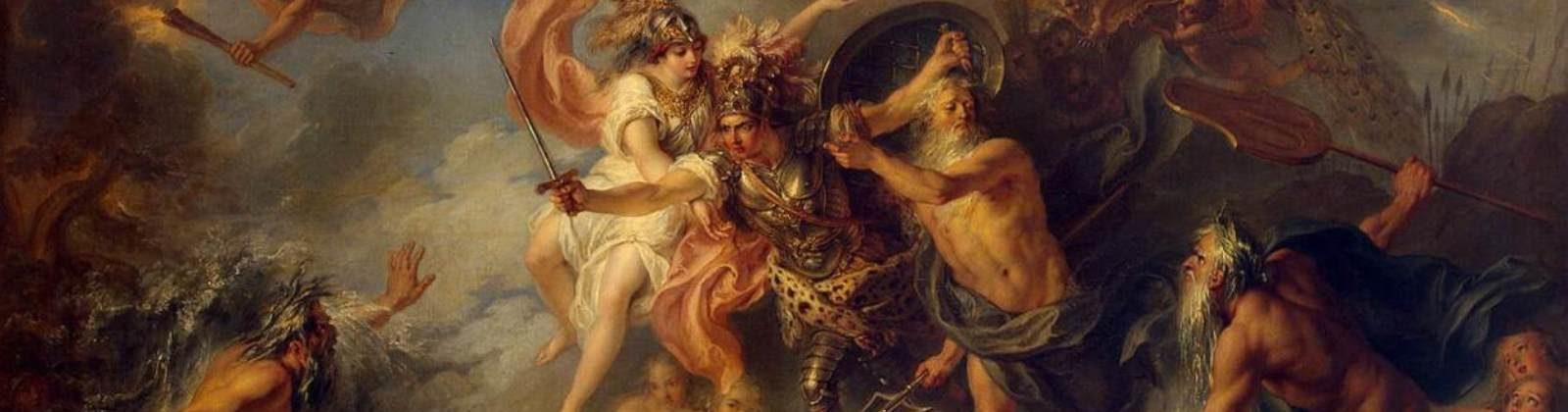 Charles-Antoine Coypel: Fury of Achilles