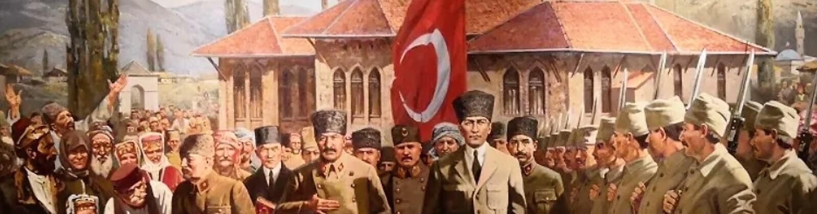 Mustafa Kemal Pasha Leaving TBMM for the Front